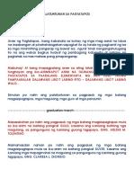 Grad Script tagalog
