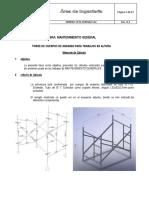 EASM 201902125 Memoria de Calculo Andamio Acrow