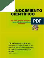 1metodologia 1conocimiento Cientifico Sesion 1