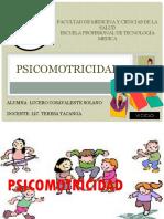 PSICOMOTRICIDAD DIAPOSITIVAS