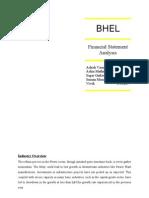 Bhel Financial Analysis