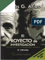 Clase invertida_Fidias G. Arias-El proyecto de investigacion.Introducción a la metodología científica (pp 13-26).pdf