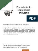 Procedimiento Contencioso Tributario EXPOOOOO