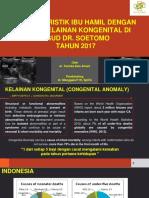Karakteristik Kelainan Kongenital Di Rsud Dr. Soetomo 2017 Prof Aa