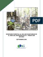 SIGCAG-FT-01 - Informes Forestal 80ha Macroproyecto San Antonio 15-09-09.pdf