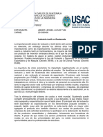 Tarea 1 (Ensayo de la industria textil en Guatemala).docx