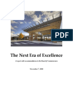 Next Era of Excellence Board Recommendation Report - Nov. 2018