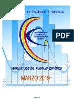 Panorama Economico Marzo 2019