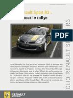 Dossier de presse Clio Renault Sport R3 FR