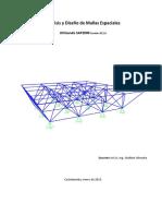 07 Analisis y Diseño de Mallas Espaciales SAP2000 v20.2.0