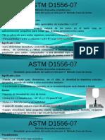 ASTM 1556 ENSAYO DE CONO DE ARENA