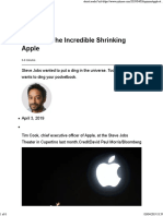 Opinion _ the Incredible Shrinking Apple