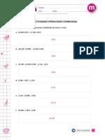 Pauta PDF corrección operación con paréntesis