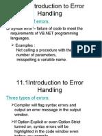 VB Net Debugging
