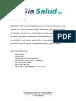 Portafolio de Servicios Psicologia Infantil