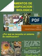 Fundamentos de Clasificacion Biologica - 2015 - 3 - Clase t2
