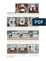 Storyboard Sena Producción Multimedia