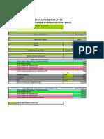 Formato Presupuesto y Apu