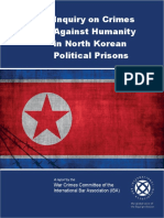 Inquiry on Crimes in DPRK