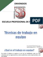 TDP II Sesion 3 Equipo Roles y Parejas