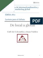 Lectura Debate Juan Valdez EMBA 1811