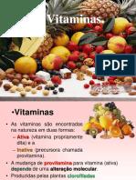 Aprofundamento Vitaminas 2016