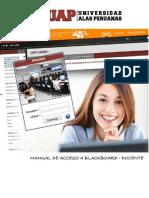 1. Acceso a Blackboard Uap-docente-Vp1.1-050416