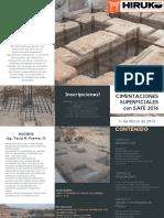 3. Diseño de Cimentaciones Superficiales Con Safe 2016 (11-Marzo-2019)