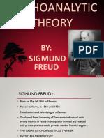 Psychoanalytic Theory By