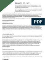 Configuración servidor WEB, DNS, FTP, POP3 y SMTP