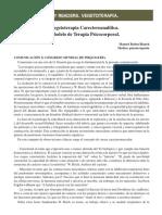 La Vegetoterapia Carecteroanalitica Un Modelo de Terapia Psicocorporal