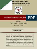 ADMINISTRACION EN LA CONSTRUCCION
