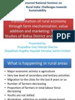 Rural transformation in Baska and Sitajakhala