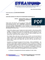 OF. CIRCULAR N° 003-2019-Convocatoria al XXV Congreso Nacional - FETRAMUNP - TACNA.docx