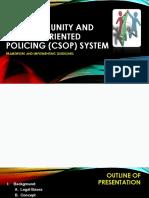 CSOP Presentation