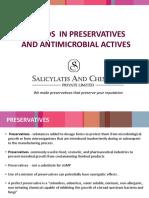 Trends in Preservatives
