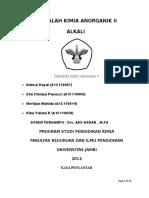 2. Logam Alkali