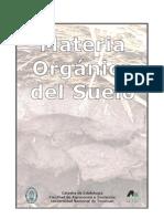 """CORBELLA y FERNÁNDEZ (2008) """"Materia Orgánica del Suelo"""""""