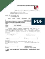 2. Surat Permohonan Kerjasama Bazar KFC