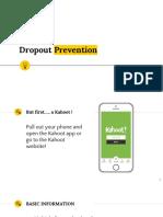 drop out prevention pd