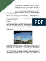 Artigo Empreendedorismo Governamental - José Morais