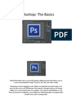 Introduction to to Photoshop