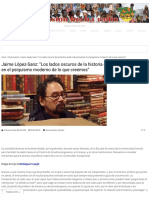 Entrevista a Jaime López-Sanz