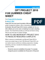 MSProject Tutorial | Project Management | Business