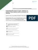 Evaluating the impact of solar radiation on pediatric heat balance within enclosed, hot vehicles.pdf
