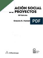 Evaluación Social de Proyectos (1)