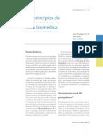 Los principios de ética biomedica
