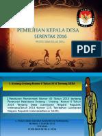Paparan Pilkades 2016 KPUD