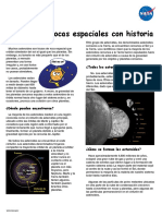Asteroids Fun Sheet Spanish