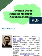 Kdm Abraham Maslow